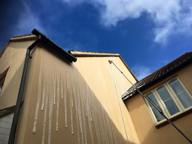 render cleaning surrey, cleaning company london